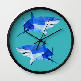 Great White. Wall Clock