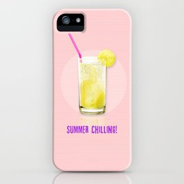 Summer Chilling! iPhone Case