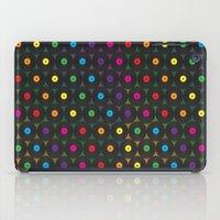 records iPad Cases featuring disco records by kociara