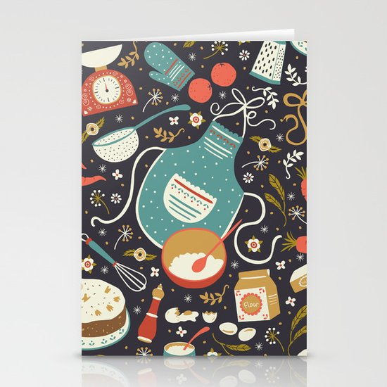 Carrot Cake Stationery Cards
