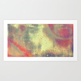 And let yourself let go. And let it all unfurl. Art Print