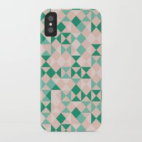emerald iPhone & iPod Cases featuring Emerald  by Leandro Pita