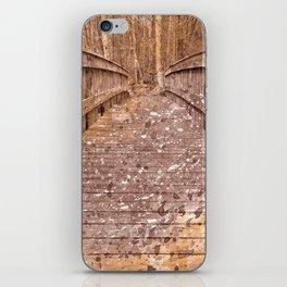 Acrylic Sepia Bridge iPhone Skin