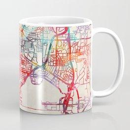 East Point map Georgia GA Coffee Mug