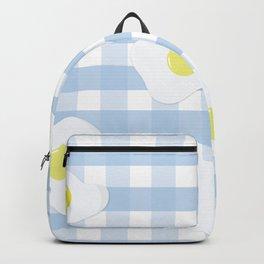 Sunny Side Up + Gingham Backpack
