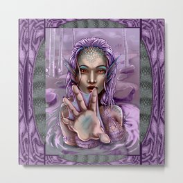 Ethos Mermaid Metal Print