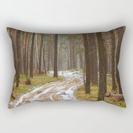 autumn forest Rectangular Pillow