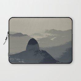 Grey Sugarloaf Mountain Laptop Sleeve