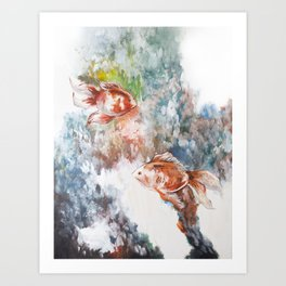 Fish Flow Art Print