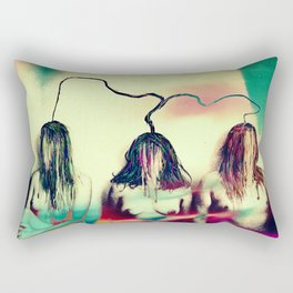 Stemmed with the mind and energy Rectangular Pillow