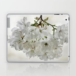 SPRING BLOSSOMS - IN WHITE - IN MEMORY OF MACKENZIE Laptop & iPad Skin
