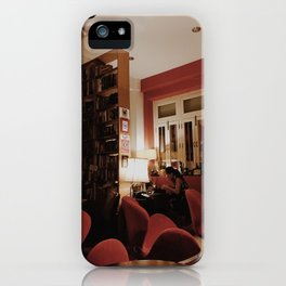 Red Cafe iPhone Case