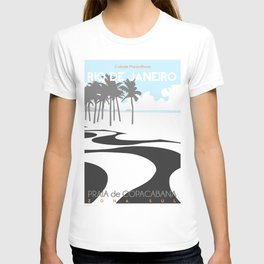 Copacabana. (Praia Leme.) T-shirt