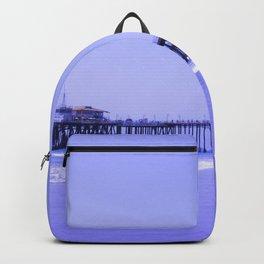Purple Haze Santa Monica Pier Backpack