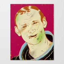 Buzz Aldrin Canvas Print
