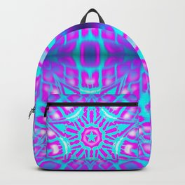 Girly Star Power Pattern Backpack
