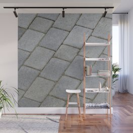 TEXTURES -- Pavingstone Pattern Wall Mural