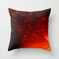 coke Throw Pillows featuring Coke by Anastasia Bogdanchikova