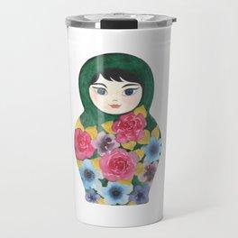 Matryoshka Doll #1 Travel Mug