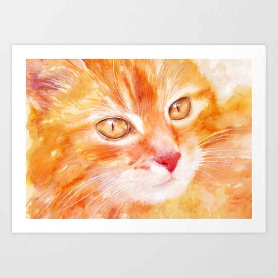 Spotted you Art Print
