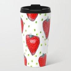 Strawberries Celebration Travel Mug