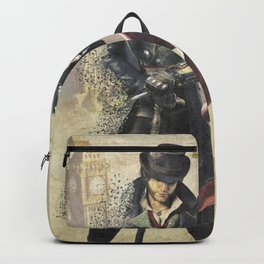 Evie and Jacob Frye Assassin's creedd Backpack