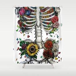 Lovely Bones Shower Curtain