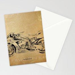 233-2019 HP4 Race original artwork for man cave decoration Stationery Cards