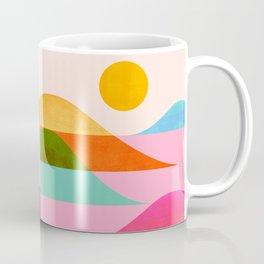 Abstraction_NEW_OCEAN_LAKE_Wonderful_Day_Minimalism_0699A Coffee Mug