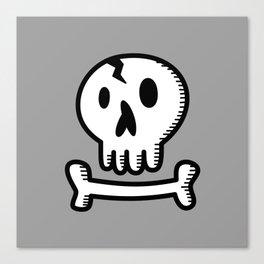 Skull 'N Bones Canvas Print