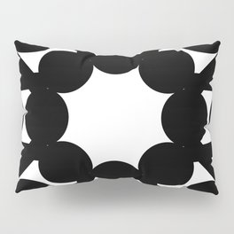 mirror art with shapes Pillow Sham