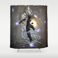 avatar Shower Curtains featuring The Avatar by Toronto Sol