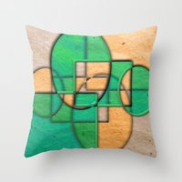 equality Throw Pillows featuring Sublime Equality by Robin Curtiss