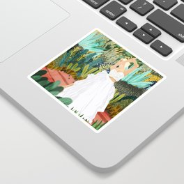 Forest Bride Sticker