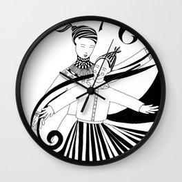 Dance For Joy Wall Clock