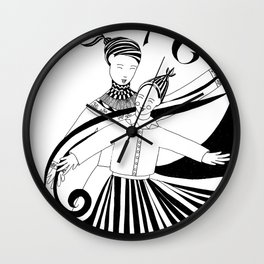 Dance For Joy Wall Clock