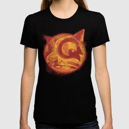 Red cat Rocka Rolla T-shirt