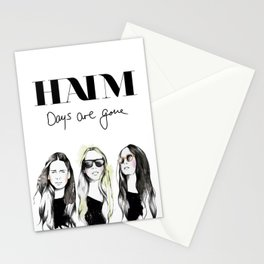 Haim Days are gone Stationery Cards