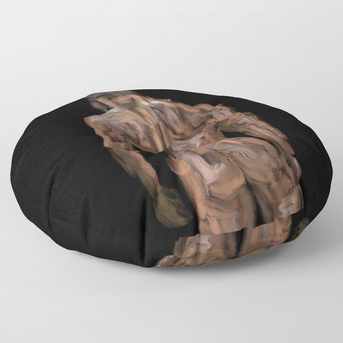 Sexy Back Surfer 1 Floor Pillow