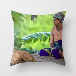 Marma Throw Pillow