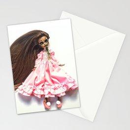 Exorcist custom doll Stationery Cards