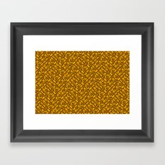 Control Your Game - Tradewinds Gold Framed Art Print