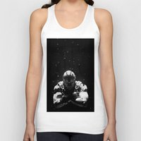 bane Tank Tops featuring Bane by Sam Rowe Illustration