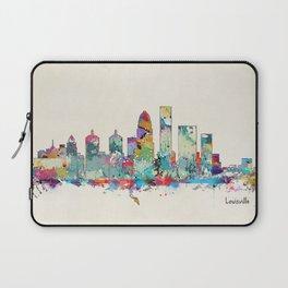 Louisville Kentucky skyline Laptop Sleeve