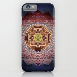 Sensual Flow Lakshmi Meditation Mandala iPhone Case