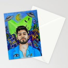 Alien Zayn Stationery Cards