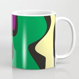 Gray, Yellow, and ... Coffee Mug