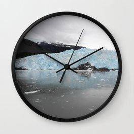 Aialik Glacier Wall Clock