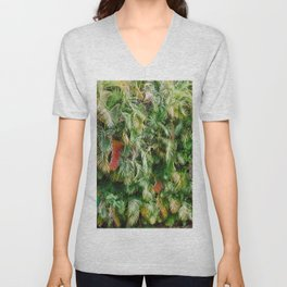 In Love with the Fall in the Tropics Unisex V-Neck