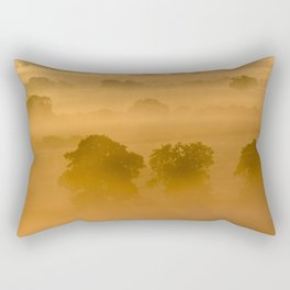 Gold in the Hedgerows Rectangular Pillow
